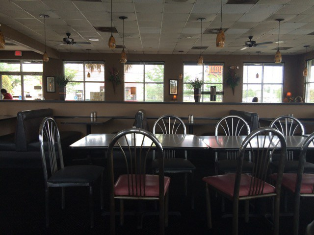 Inside Our Restaurant - Seating Space at Roberts Bar B Que